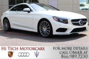 2016 Mercedes-Benz S-Class S550 Designo Package Burmester Factory Warranty!!