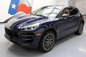 2015 Porsche Macan TURBO AWD PANO ROOF NAV 20'S Photo