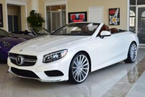 2017 Mercedes-Benz S-Class S550 Cabriolet Photo