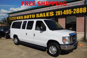 2012 Ford E-Series Van E-350 XLT VERY LOW MILE 45K