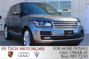 2015 Land Rover Range Rover Windsor Leather-Heated/Cooled Seats-Vision Pack