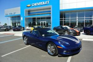 2007 Chevrolet Corvette Lemans Blue, 3LT, Z51, Nav, Florida Car