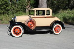 1930 A Model Ford Deluxe Coupe
