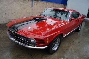 1970 Ford Mustang MACH 1 WITH CLEVELAND 351 4BBL V8 ENGINE