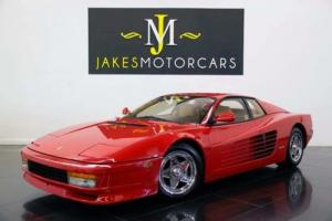 1987 Ferrari Testarossa (1-OWNER!...$22K SERVICE JUST DONE!)