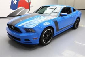 2013 Ford Mustang BOSS5.0 6-SPD RECARO 19'S