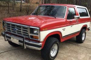 1986 Ford Bronco XLT