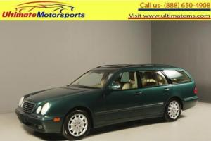 "2001 Mercedes-Benz E-Class 2001 E320 SUNROOF LEATHER PWR SEATS WOOD 16""ALLOYS"