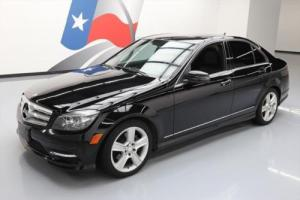 2011 Mercedes-Benz C-Class C300 SPORT SEDAN P1 SUNROOF NAV