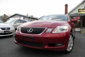 2007 Lexus GS Base AWD 4dr Sedan Sedan 4-Door Automatic 6-Speed