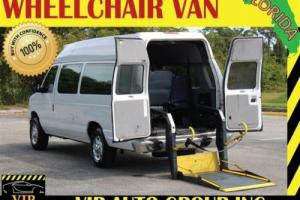 2013 Ford E-Series Van Econoline Handicap Wheelchair Van