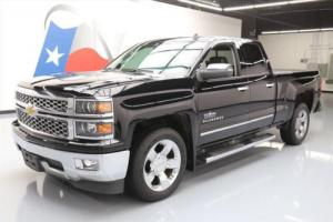 2014 Chevrolet Silverado 1500 SILVERADO TEXAS DBL CAB LTZ LEATHER 20'S
