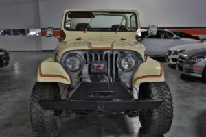 1981 Jeep CJ 2DR SUV