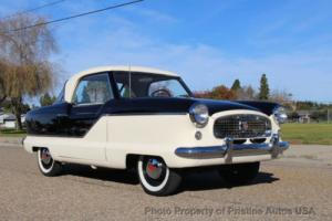 1957 Nash Metropolitan Totally restored and rust free. California Black p