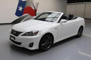 2013 Lexus IS 250C F SPORT CONVERTIBLE NAV REAR CAM