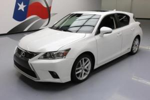 2014 Lexus CT 200H HATCHBACK HYBRID SUNROOF NAV