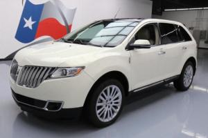 2013 Lincoln MKX ELITE PANO SUNROOF NAV REAR CAM