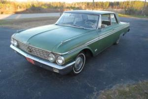 1962 Ford Galaxie 2 door club victoria