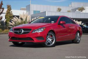 2014 Mercedes-Benz E-Class CERTIFIED 2014 E350 Coupe Loaded / Stunning