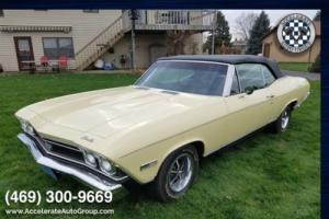 1968 Chevrolet Chevelle SS396 Convertible with AC
