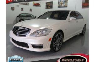 2011 Mercedes-Benz S-Class 4dr Sedan S63 AMG RWD