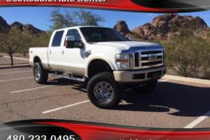 2008 Ford F-250 Super Duty, Lariat, Crew Cab, King Ranch, Lifted