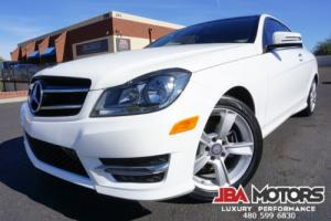 2014 Mercedes-Benz C-Class 14 C250 C Class 250 Coupe with ONLY 23k Miles!