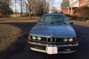 1987 BMW 6-Series 635 csi