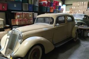 1934 hupmobile 4 door sedan