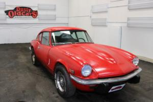 1973 Triumph GT6 2.0L Inline 6 4 spd man Body Inter Good Needs Work