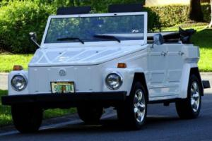 1974 Volkswagen Thing THING CONVERTIBLE WITH SIDE WINDOWS