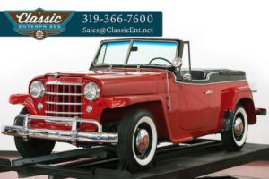 1951 Willys Jeepster Roadster Convertible