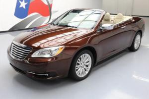 2013 Chrysler 200 Series LTD CONVERTIBLE HTD LEATHER NAV