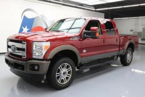 2016 Ford F-250 KING RANCH CREW 4X4 DIESEL NAV 20'S