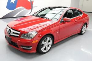 2012 Mercedes-Benz C-Class C250 COUPE PANO ROOF HTD SEATS