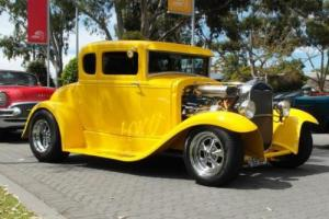 1930 model A hotrod hot rod 5 window ford rodbods