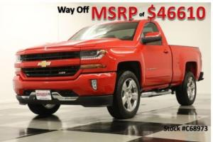 2017 Chevrolet Silverado 1500 MSRP$46610 2LT 4X4 GPS Z71 Camera Red Hot Regular 4WD