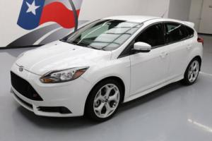 2014 Ford Focus ST ECOBOOST 6-SPEED SPOILER ALLOYS