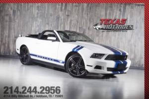 2012 Ford Mustang V6 Convertible Show Car