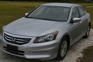 2012 Honda Accord LX 4dr Sedan 5A