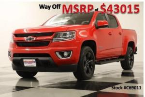 2016 Chevrolet Colorado MSRP$43015 4WD LT Navigation Camera Red Hot Crew 4X4