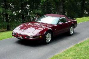 1993 Chevrolet Corvette Convertible plus Hard top