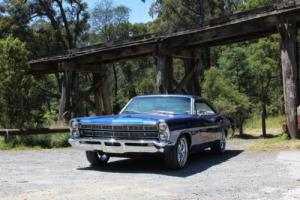 1967 Ford Galaxie 500 2 door pillarless coupe