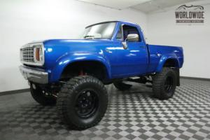 1978 Dodge Power Wagon CUSTOM MONSTER TRUCK. 4X4. RARE!