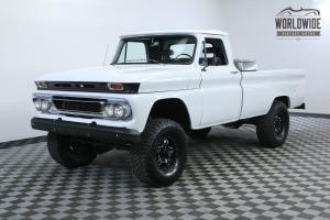1966 GMC TRUCK 4X4 RESTORED. FUEL INJECTED V8! DANA AXLES