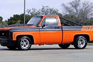 "1979 Chevrolet C-10 TV TRUCK ""COWBOY CADILLAC"" 472cu Photo"