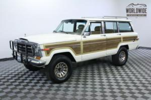 1987 Jeep Wagoneer RESTORED LIFTED AC FUEL INJECTED V8