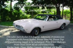 "1969 Oldsmobile Cutlass Cutlass ""S"""