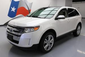2013 Ford Edge LTD PANO SUNROOF NAV REAR CAM 20'S
