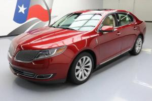 2015 Lincoln MKS DUAL SUNROOF CLIMATE LEATHER